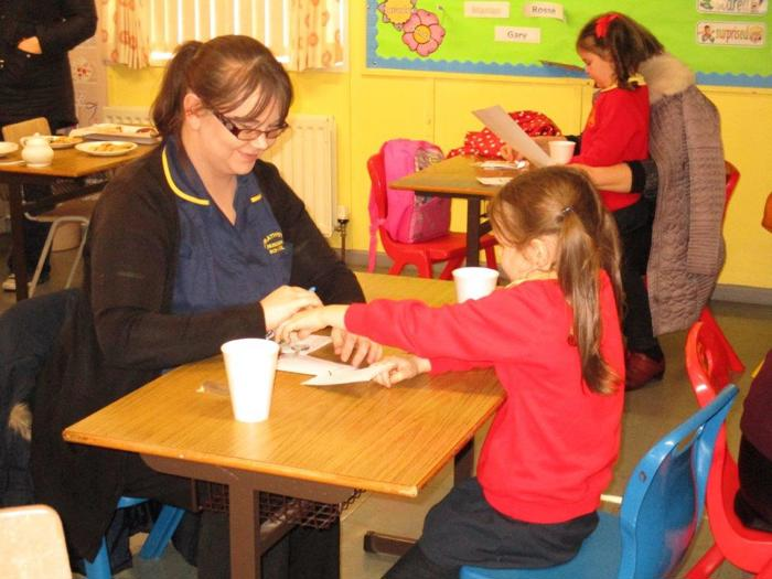 Families come together at Steelstown Primary School | Greater