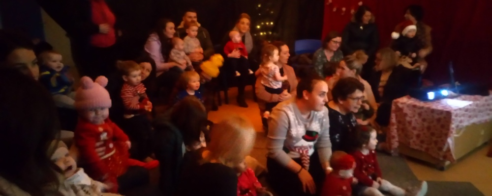 A Great Time Had by all at Santa's Grotto!