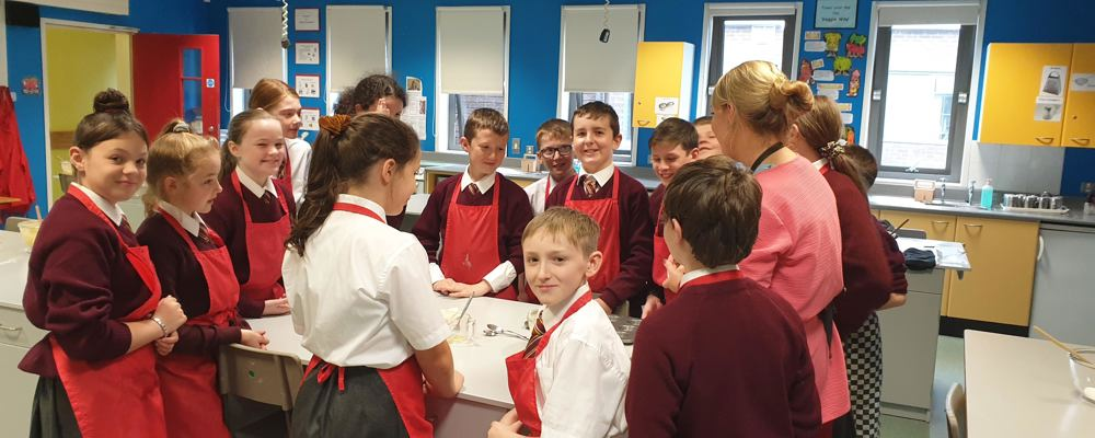 GSAP Aspire Clubs a piece of cake this week for Year 8!