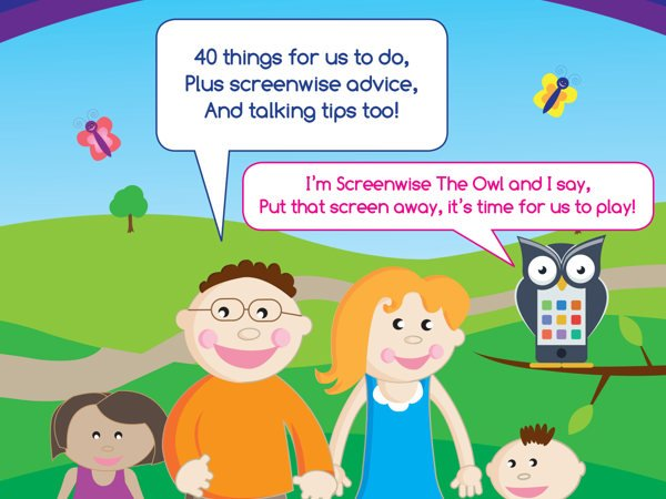 Talking To Our Babies; Talk, Sing, Read And Play 40 Things For Us To Do Screenwise Booklet