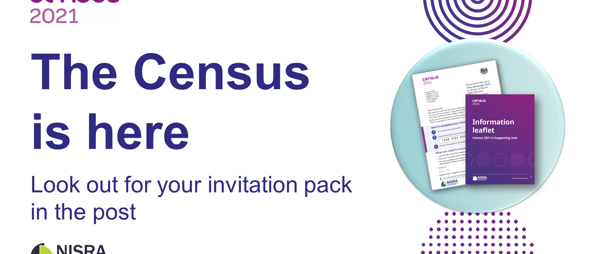 CENSUS 2021 LOOK OUT FOR YOUR INVITATION PACK