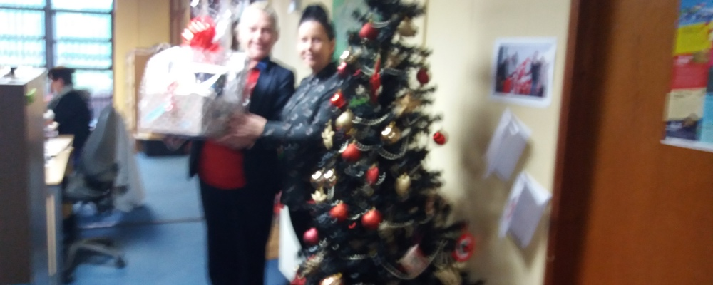 Congratulations to Cathy Green - the Winner of GSAP Christmas Eve Box