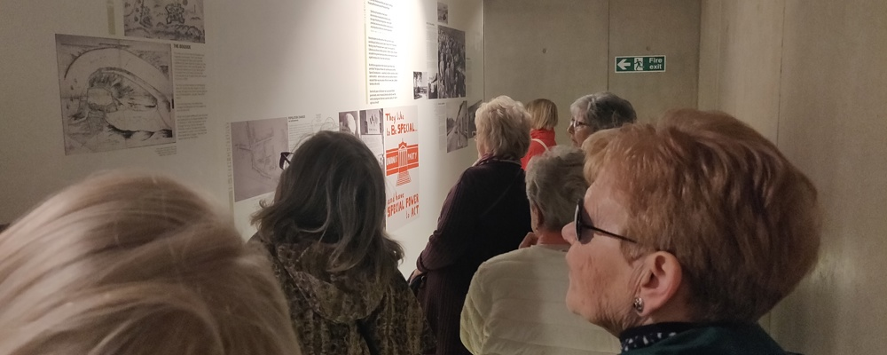 Our Local Northside 50+ Club at the Museum of Free Derry