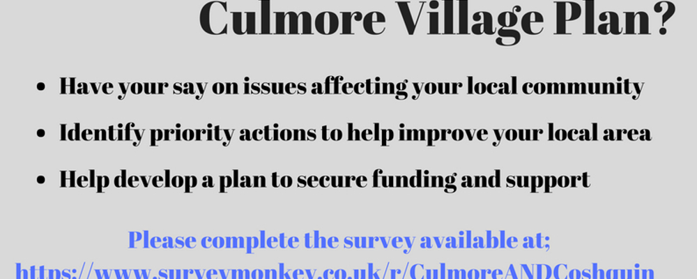 Culmore Village Plan-Have Your Say!