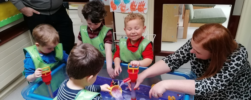 Outer North Extended Schools Cluster - Play Together Learn Together Programme