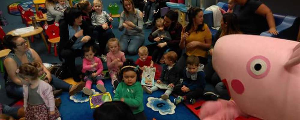 GSAP's Talking To Our Babies  'Story Time Session with Peppa Pig'