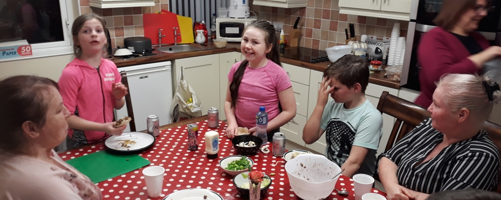Ballyarnett Traveller Women's Group (Travel with Me2 Project) - Healthy Cooking Family Meals