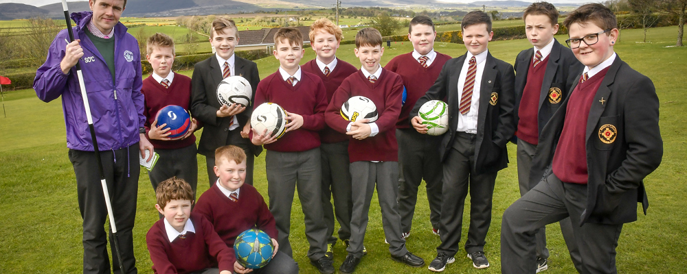 Foot Golf for Aspire Students